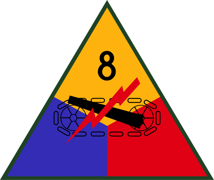 Wappen 8th Armored Division